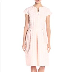 Helene Berman Womens Cap-Sleeve Fitted Dress